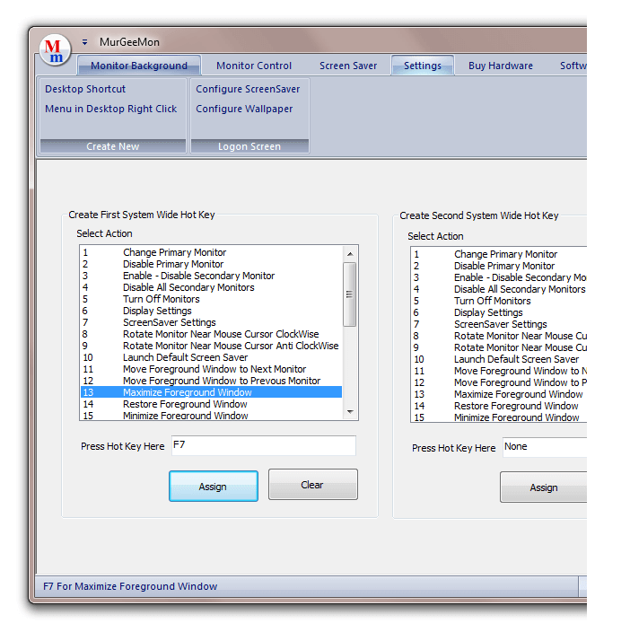 Shortcut Key to Maximize Window