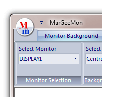 Select Monitor for Monitors list