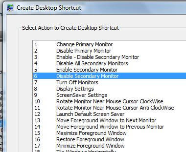 Turn Off Second Monitor on a Dual Monitor Windows Computer