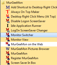 Software to control Multiple Monitors of a Windows Desktop or Laptop Computer
