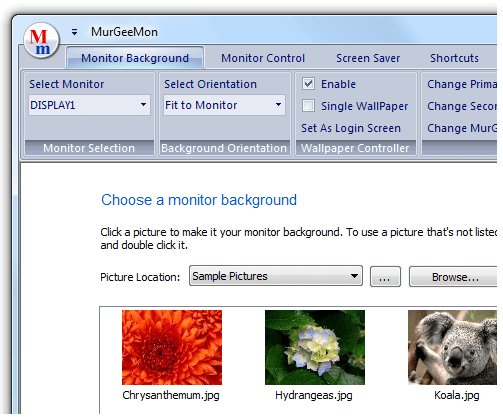 Control Single, Dual or Multiple Monitors with this Monitor Control Software